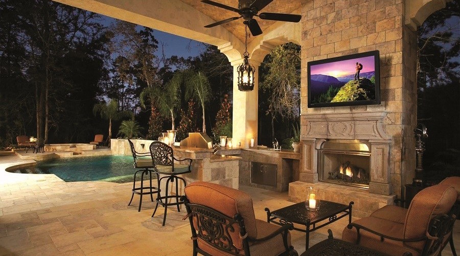 Extend Your Home's Audio and Video Entertainment Outdoors